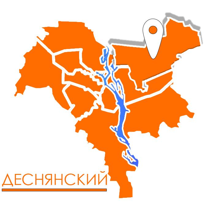 грузовое такси в деснянском районе киева карта картинка