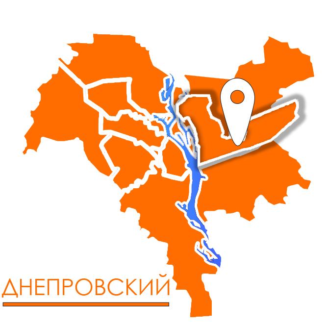 грузовое такси в днепровском районе киева карта картинка