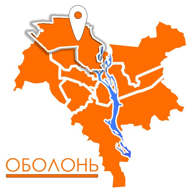 грузовое такси в оболонском районе киева карта картинка