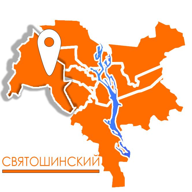 грузовое такси в святошинском районе киева карта картинка